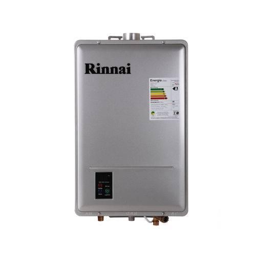 Aquecedor Digital Gas 22 5L REU1602FEH Rinnai GLP