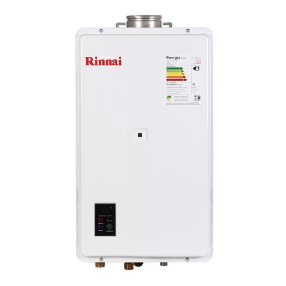 Tudo sobre 'Aquecedor Digital Gas 21L REUE210FEHB Rinnai GLP'