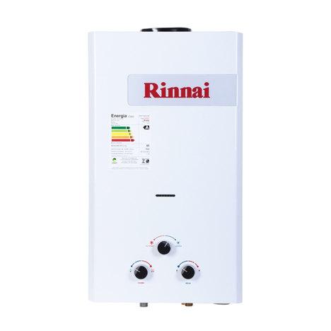 Aquecedor Gas 15L Reu158br Rinnai 15L Gn