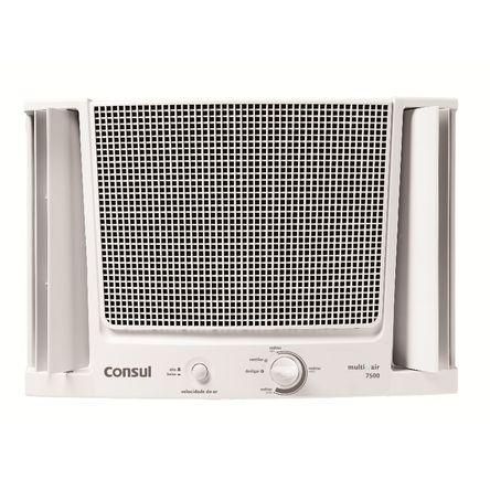 Tudo sobre 'Ar Condicionado Janela 7500 BTUs/h Consul Frio com Filtro Fácil de Limpar 220V'