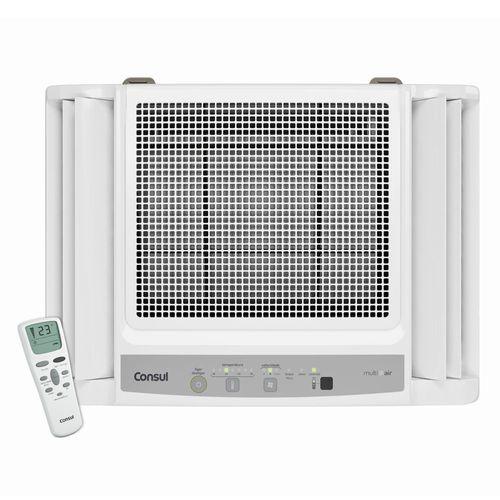 Tudo sobre 'Ar Condicionado Janela Consul Eletrônico Frio com Controle Remoto 7.500 BTU/h CCN07DBBNA - 220V'