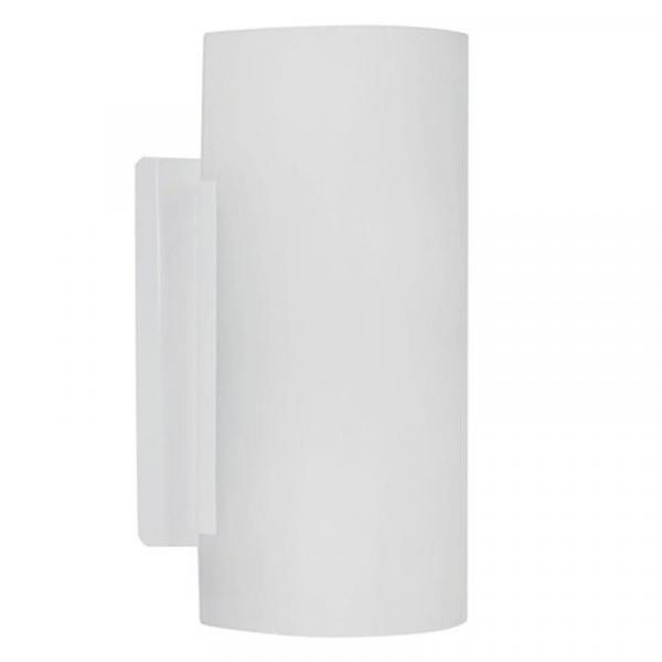 Arandela Embaú E27 Branco 20cm - Taschibra