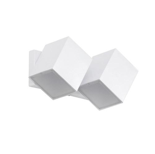 Arandela Externa Branca Alumínio Articulada Ideal
