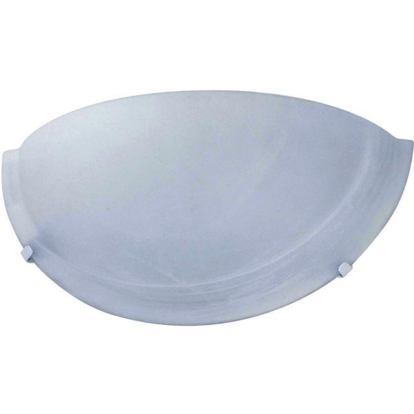 Arandela Laguna 30cm Branco E27 - Taschibra