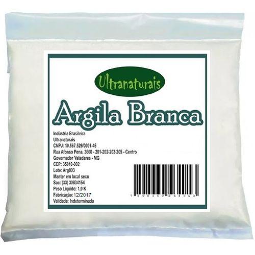 Argila Branca 1 Kg