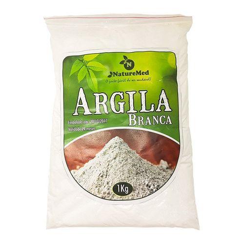 Argila Branca - 1kg
