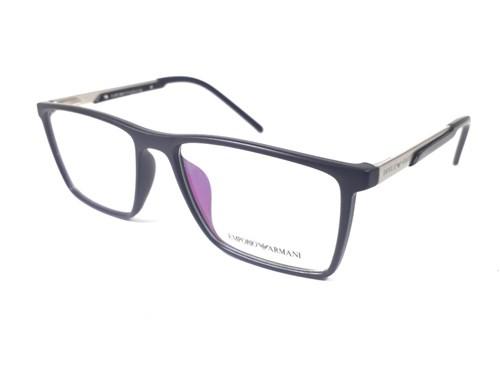 Armação de Óculos de Grau Masculino Ea1201 (Preto)