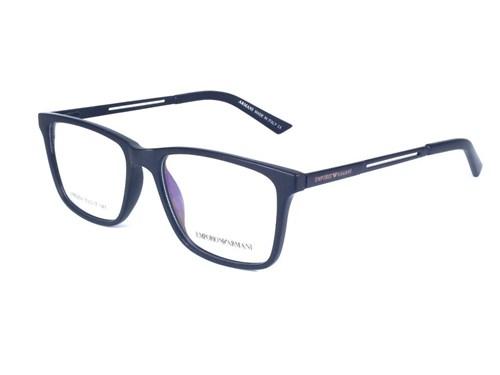 Armação de Óculos de Grau Masculino Ea1065 (Preto)