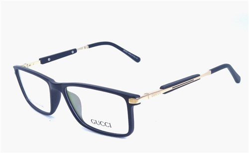 Armação de Óculos de Grau Masculino G1281 (Preto)