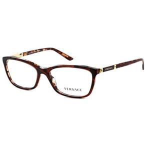 Armação de Óculos de Grau Versace Tortoise - VE31865077