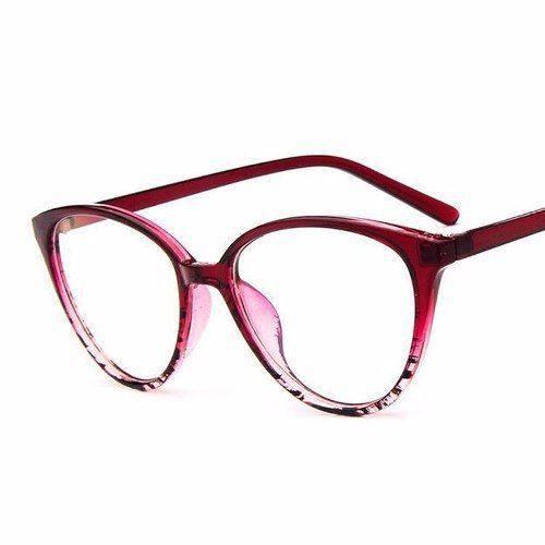 Armação Gatinho Cat Retrô Fashion para Óculos de Grau