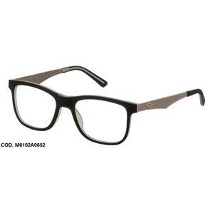 Armação Óculos Grau Mormaii M6102A0654 Preto Fosco Grafite - PRETO