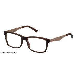 Armação para Oculos de Grau Mormaii M6100 M6100F0352 Dourado Marrom - DOURADO