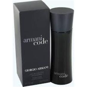 Armani Code Masculino Eau de Toilette - 125 Ml