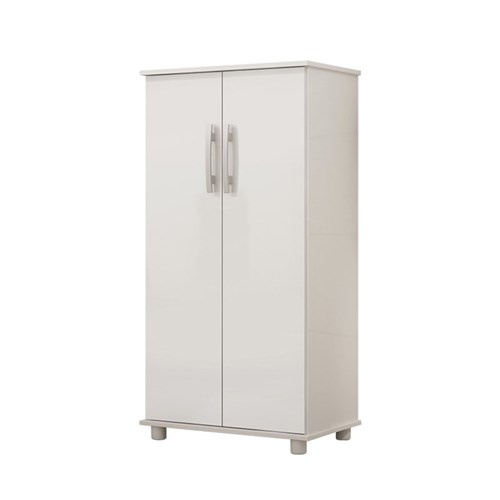 Armário Multiuso Classic Benetil Móveis Branco
