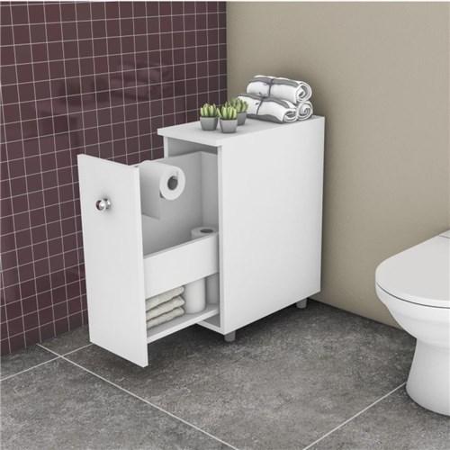 Armário para Banheiro com 1 Gavetão Movelbento Branco