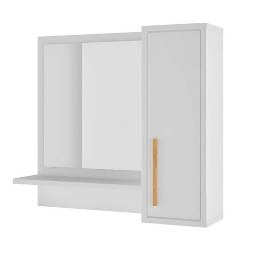 Armário para Banheiro Suzanna 1 Pt Branco
