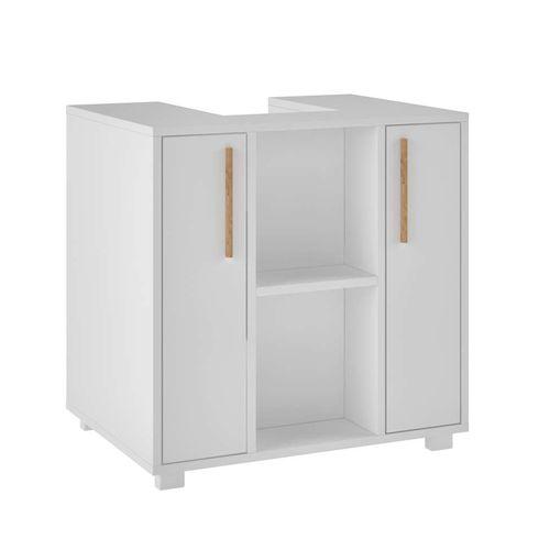 Armário para Banheiro Suzanna 2 Pt Branco