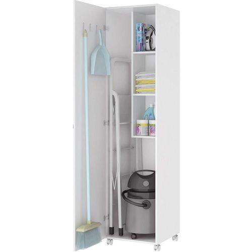 Armário para Lavanderia 1 Porta Branco - Art In Móveis