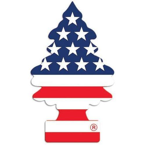 Tudo sobre 'Aromatizante Little Trees Vanilla Pride USA Baunilha'