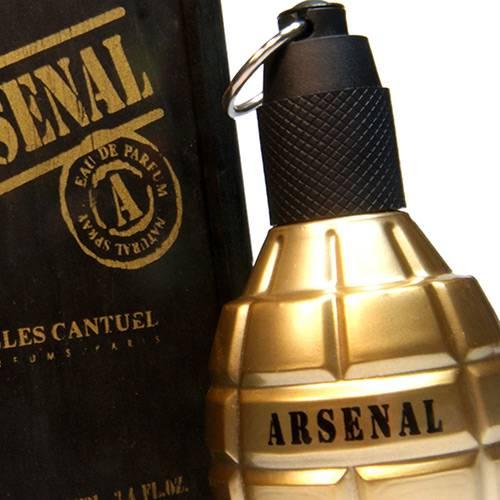 Arsenal Gold Eau de Parfum 100 Ml Spray - Gilles Cantuel