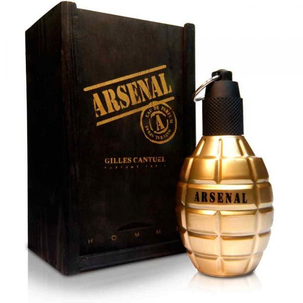 Arsenal Gold Gilles Cantuel Eau de Parfum Perfume Masculino 100ml - Gilles Cantuel