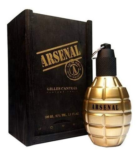 Arsenal Gold Gilles Cantuel - Perfume Masculino - Eau de Parfum 100ml
