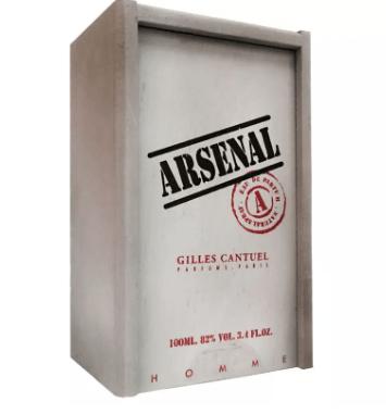 Arsenal Platinum Masculino de Gilles Cantuel Eau de Parfum (100ml)