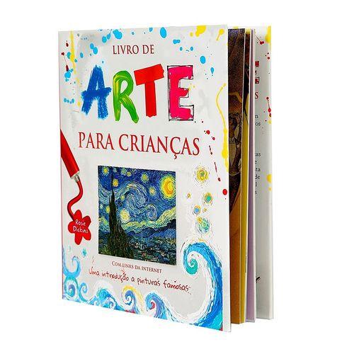 Arte - Livro de Arte para Crianças - Capa Dura - Rosie Dickins