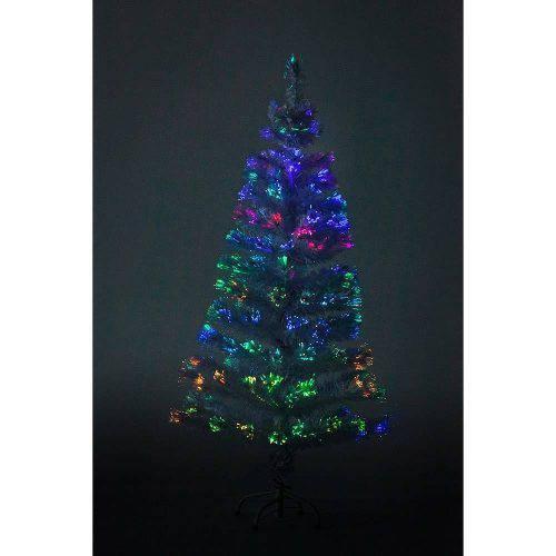 Tudo sobre 'Árvore de Natal Fibra Ótica Branca 1,5 M 110v Christmas Traditions'