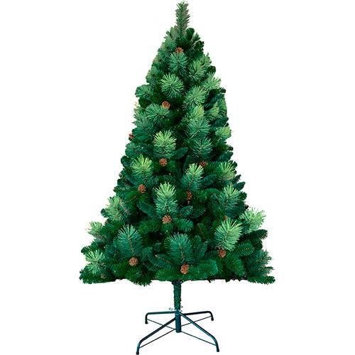Tudo sobre 'Árvore de Natal Tradicional com Pinhas 1,8m - Christmas Traditions'