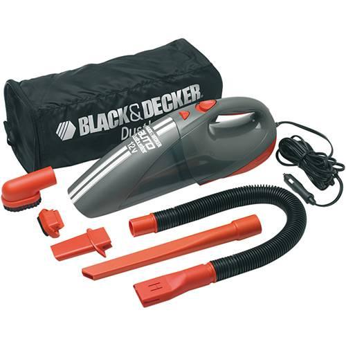 Tudo sobre 'Aspirador Automotivo Black & Decker Ciclon 12V com 5 Acessórios e Bolsa'