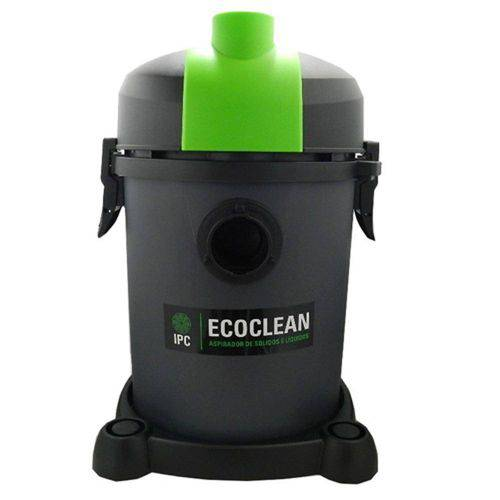 Aspirador Profissional para Pó e Liquidos, 18 Litros, 1200w - Ecoclean AP120 - IPC SOTECO-220V