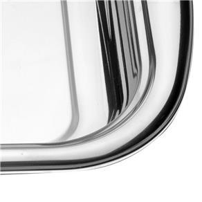 Assadeira Retangular Inox 39 Cm