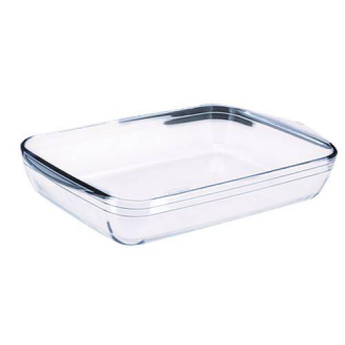 Assadeira Retangular Vidro Extra Resistente 2600ml - Ô Cuisine