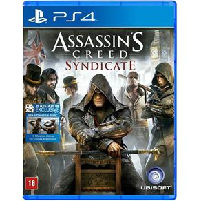 Assassins Creed Syndicate - PS4