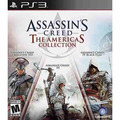 Tudo sobre 'Assassins Creed The Americas Collection - Ps3'