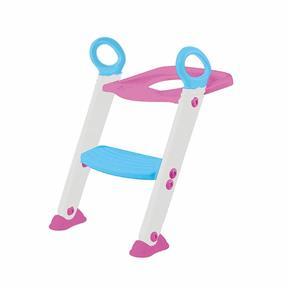 Tudo sobre 'Assento Redutor com Escada Rosa'