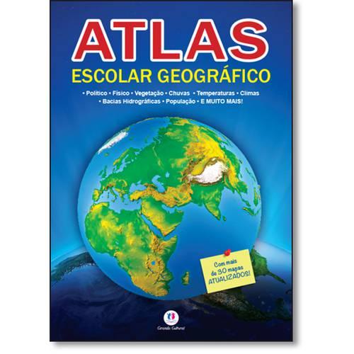 Tudo sobre 'Atlas Escolar Geográfico'