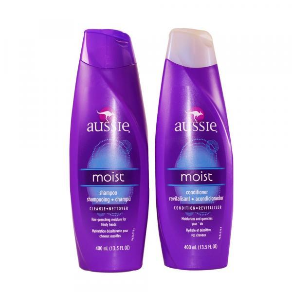 Aussie KIT Shampoo e Condicionador MOIST - 2x400ml