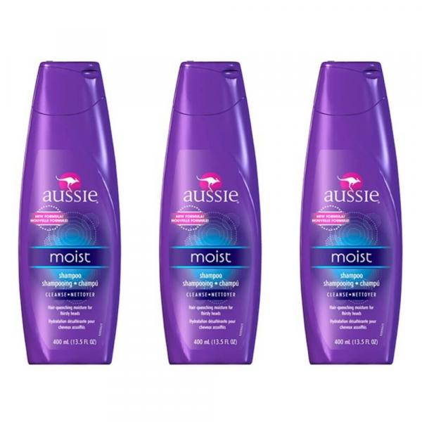Aussie Moist Shampoo 400ml (Kit C/03)