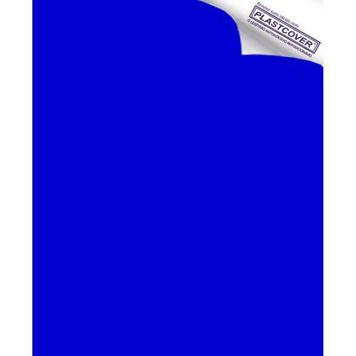 Autoadesivo Plastcover Colorido Liso Opaco Azul 45CM X 10M