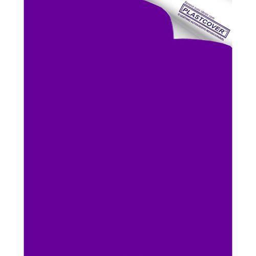 Autoadesivo Plastcover Colorido Liso Opaco Roxo 45CM X 10M