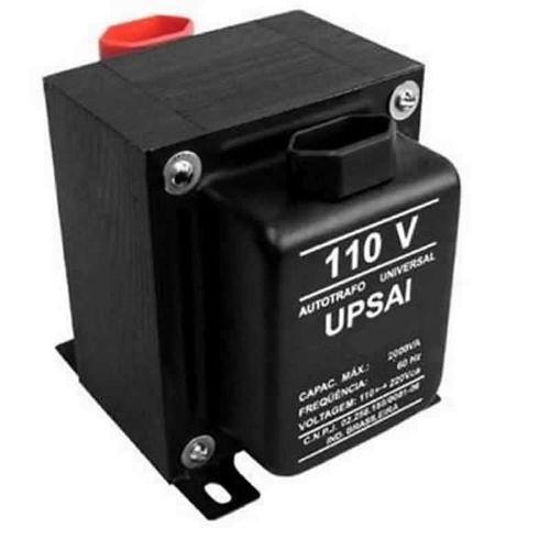 Autotransformador At500 Bivolt 110v a 220v ou 220v a 110v Upsai