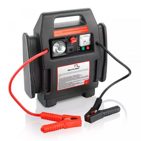 Auxiliar de Partida Multilaser Au602 4x1 Carregador de Bateria Celular Notebook e Gps - Multilaser