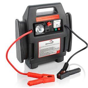 Auxiliar de Partida Multilaser AU602 4X1 Carregador de Bateria, Celular, Notebook e Gps