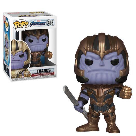 Tudo sobre 'Avengers Endgame Thanos 453 Pop Vinyl - Funko'