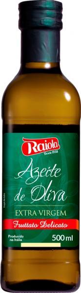 Azeite de OLiva Extra Virgem Italiano 500ml - Raiola
