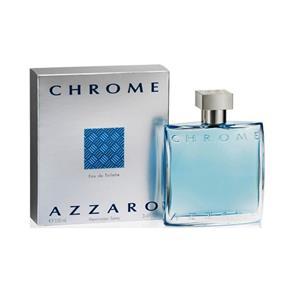 Azzaro Chrome Eau de Toilette Masculino 50ml - 50 ML