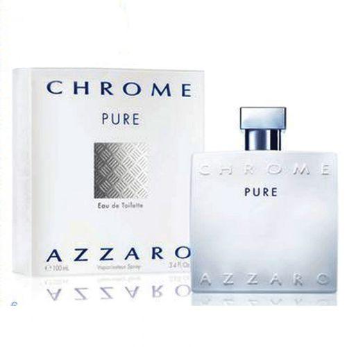 Azzaro Chrome Pure Perfume Masculino Eau de Toilette 50 Ml